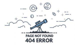 404 sayfası nedir