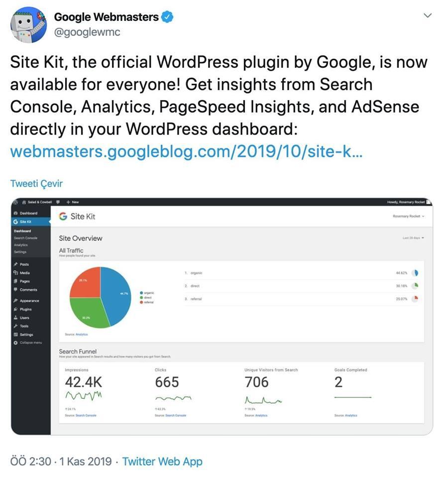 google-site-kit-nedir
